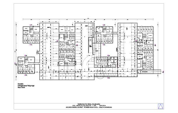 Eingabplan, Haus 3 – 8 Feldkirchen