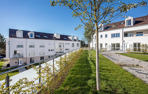 Mehrfamilienwohnhäuser mit TG in Feldkirchen
