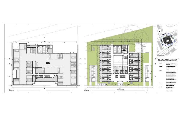 Architektenplan
